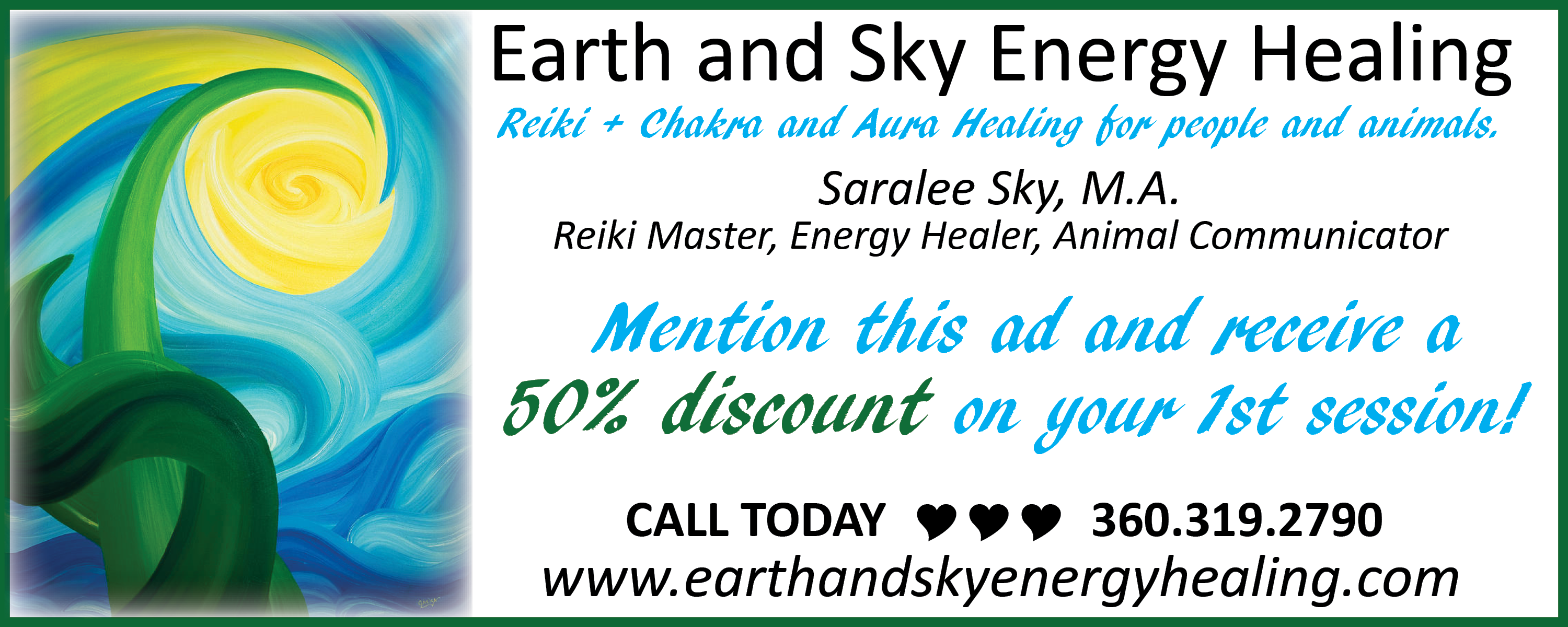 Earth and Sky Energy Healing
