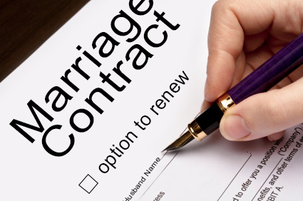 Rewriting the Marriage Contract – Marriage Contract